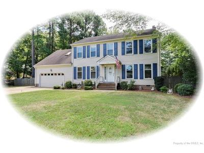 Yorktown Single Family Home For Sale: 212 Freemans Trace