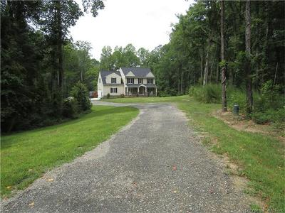 Toano Single Family Home For Sale: 3318 Chickahominy Road