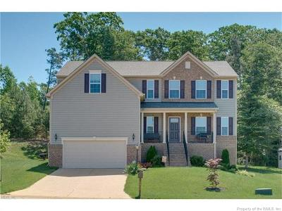 Charles City Co., Isle Of Wight County, James City Co., Richmond County, Surry County, Williamsburg County, York County Single Family Home For Sale: 6053 John Jackson Drive
