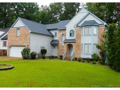 Newport News Single Family Home For Sale: 891 Garrow Road