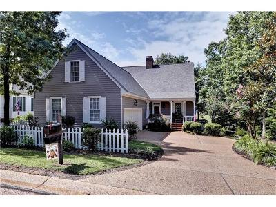 Williamsburg VA Single Family Home For Sale: $430,000