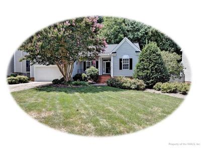 Williamsburg Single Family Home For Sale: 4776 Regents Park