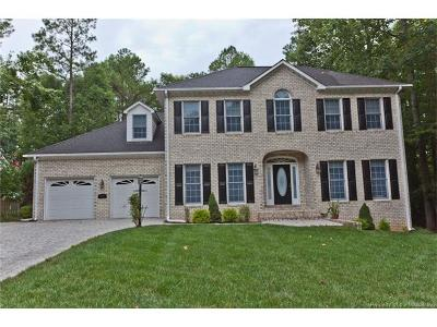 New Kent County Single Family Home For Sale: 5710 Regal Lane