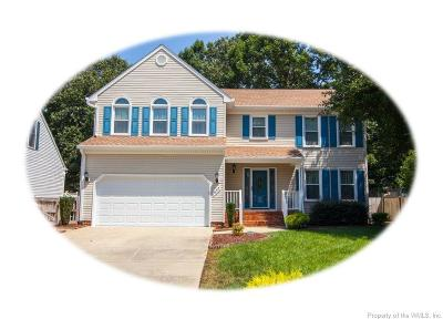 Newport News Single Family Home For Sale: 857 Lancaster Lane