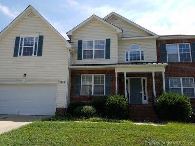 James City County Single Family Home For Sale: 3928 St Erics Turn