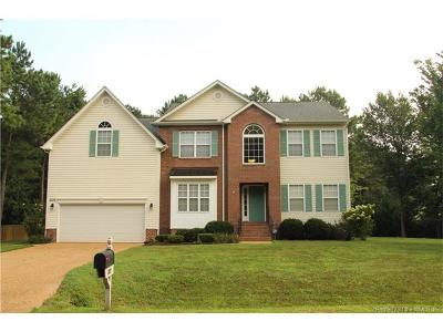 Williamsburg VA Single Family Home For Sale: $390,000