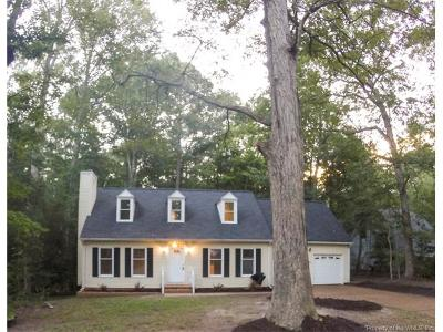 Williamsburg VA Single Family Home For Sale: $339,500