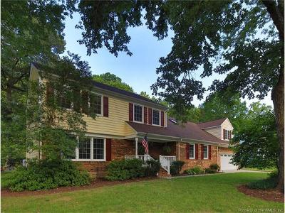 Poquoson Single Family Home For Sale: 7 Frank Hunt Court
