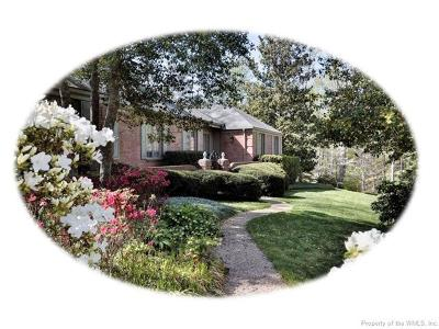 Williamsburg Single Family Home For Sale: 118 Maid Marion Place