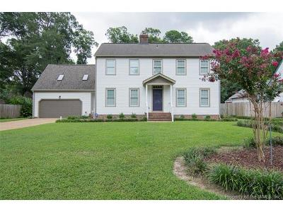 Newport News Single Family Home For Sale: 2102 Village Green