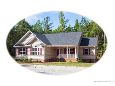Lanexa Single Family Home For Sale: 3350 Good Hope Road
