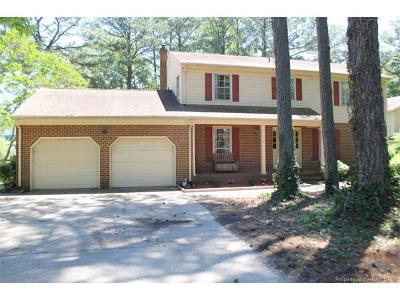 Yorktown Single Family Home For Sale: 127 Winsome Haven Drive