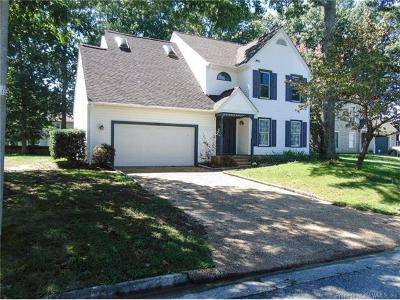 Newport News Single Family Home For Sale: 908 Chartwell Drive