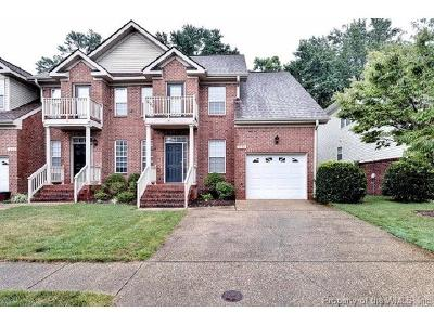 Williamsburg VA Condo/Townhouse For Sale: $249,900