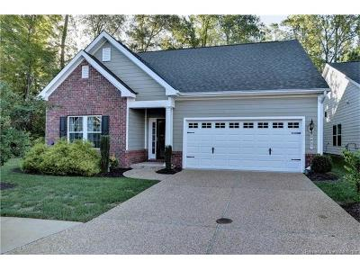 The Settlement At Powhatan Creek Single Family Home For Sale: 4085 Coronation