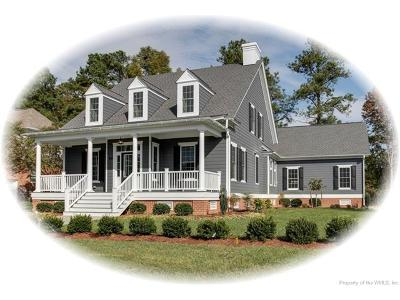 Newport News Single Family Home For Sale: Mm The St. Andrews Cottage