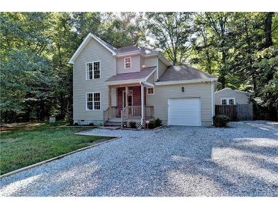 Single Family Home Sold: 4824 Hickory Signpost Road