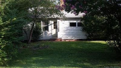 Williamsburg Single Family Home For Sale: 6321 Centerville Road
