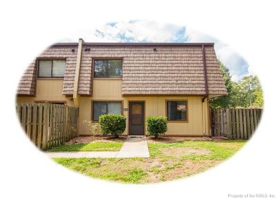 Newport News Single Family Home For Sale: 1493 Monterry Place