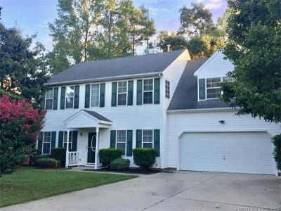 Williamsburg Single Family Home For Sale: 5912 Meriwether Court