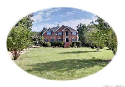 Williamsburg Single Family Home For Sale: 2813 Durfeys Mill Road