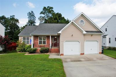 Toano Single Family Home For Sale: 8857 Fenwick Hills Parkway