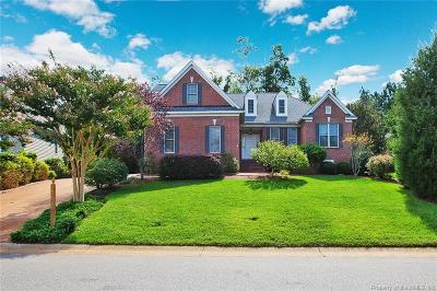 Williamsburg Single Family Home For Sale: 4004 Ambassador Circle