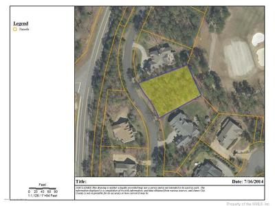 Norge, Toano, Williamsburg Residential Lots & Land For Sale: 154 Blackheath