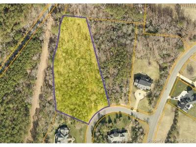 Norge, Toano, Williamsburg Residential Lots & Land For Sale: 2404 Reserve Drive