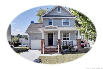Williamsburg Single Family Home For Sale: 105 Carriage Road
