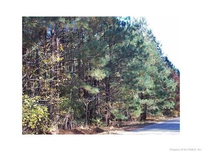 Gloucester Residential Lots & Land For Sale: 27+ Acres Baileys Wharf Road