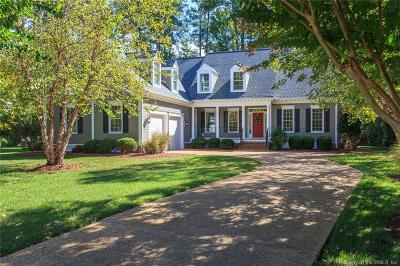 Williamsburg Single Family Home For Sale: 2824 Bennett's Pond
