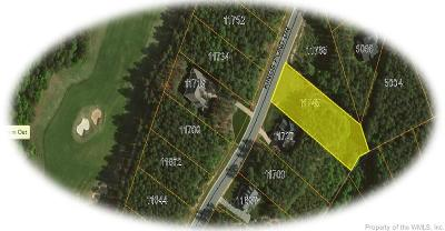 Williamsburg, Toano, Norge, Providence Forge Residential Lots & Land For Sale: 11745 Kings Pond Drive