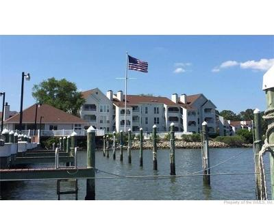 Hampton Condo/Townhouse For Sale: 221 Island Cove Court #C