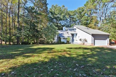 Williamsburg Single Family Home For Sale: 206 Riverview Plantation Drive