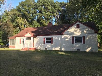 Hampton Single Family Home For Sale: 1030 Big Bethel Road