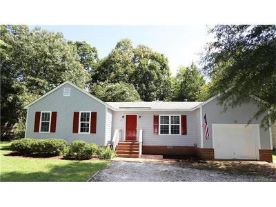 James City County Single Family Home For Sale: 131 Old Field Road