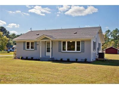 Hayes Single Family Home For Sale: 3070 Friends Road