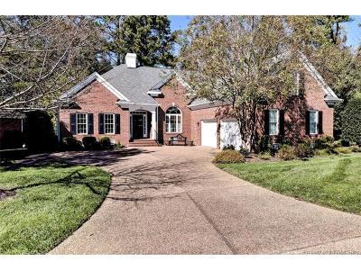 Williamsburg Single Family Home For Sale: 205 Oakmere Park