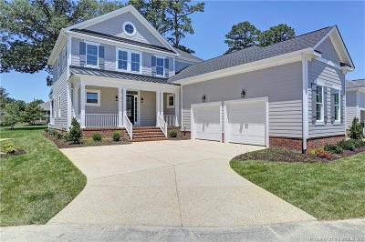 James City County, Williamsburg County, York County Single Family Home For Sale: 622 Dock Landing