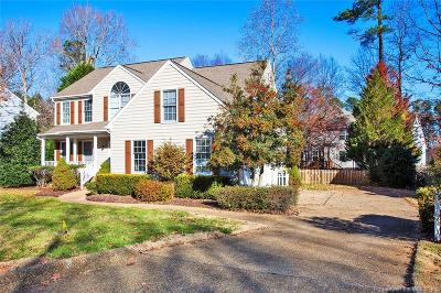 Williamsburg Single Family Home For Sale: 116 Ewell Place
