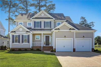 James City County, Williamsburg County, York County Single Family Home For Sale: 626 Dock Landing