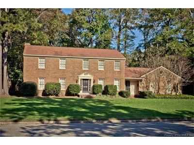 Newport News Single Family Home For Sale: 71 Settlers Road