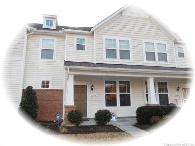 Williamsburg Single Family Home For Sale: 3204 Francis Court