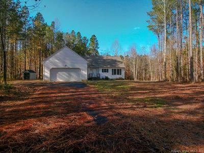 Toano Single Family Home For Sale: 2873 Chickahominy Road