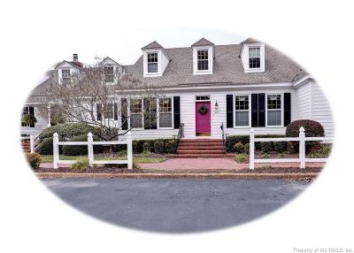 Williamsburg Single Family Home For Sale: 210 Par Drive