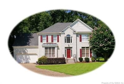 Williamsburg Single Family Home For Sale: 2013 Gersham Place