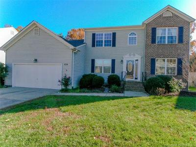 Yorktown Single Family Home For Sale: 134 Hedgerow Lane