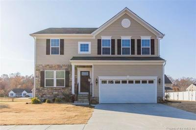 Gloucester Single Family Home For Sale: 5837 Roland Smith Drive