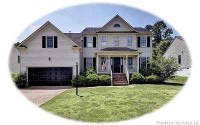 Williamsburg Single Family Home For Sale: 3744 Mulberry Lane